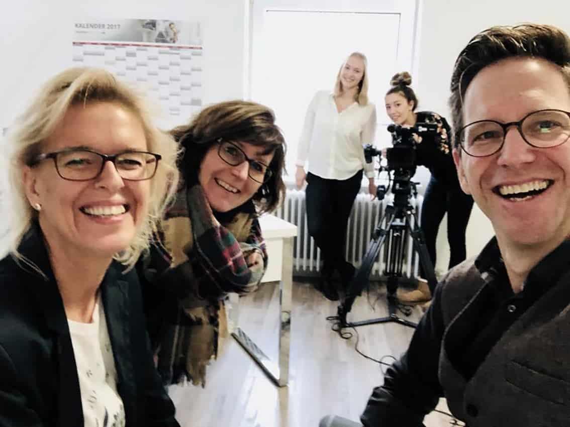 Filmdreh für Ostfalia Uni Salzgitter