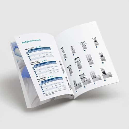 Martin Christ Gefriertrocknungsanlagen   Print Design, 2D-Animation, 3D-Animation